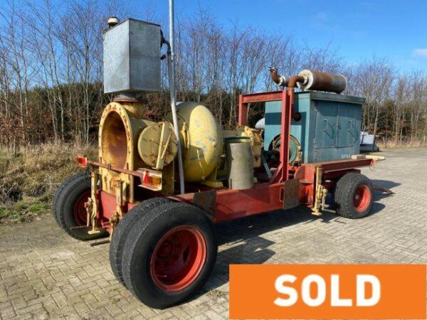 Sold High flow centrifugal pump