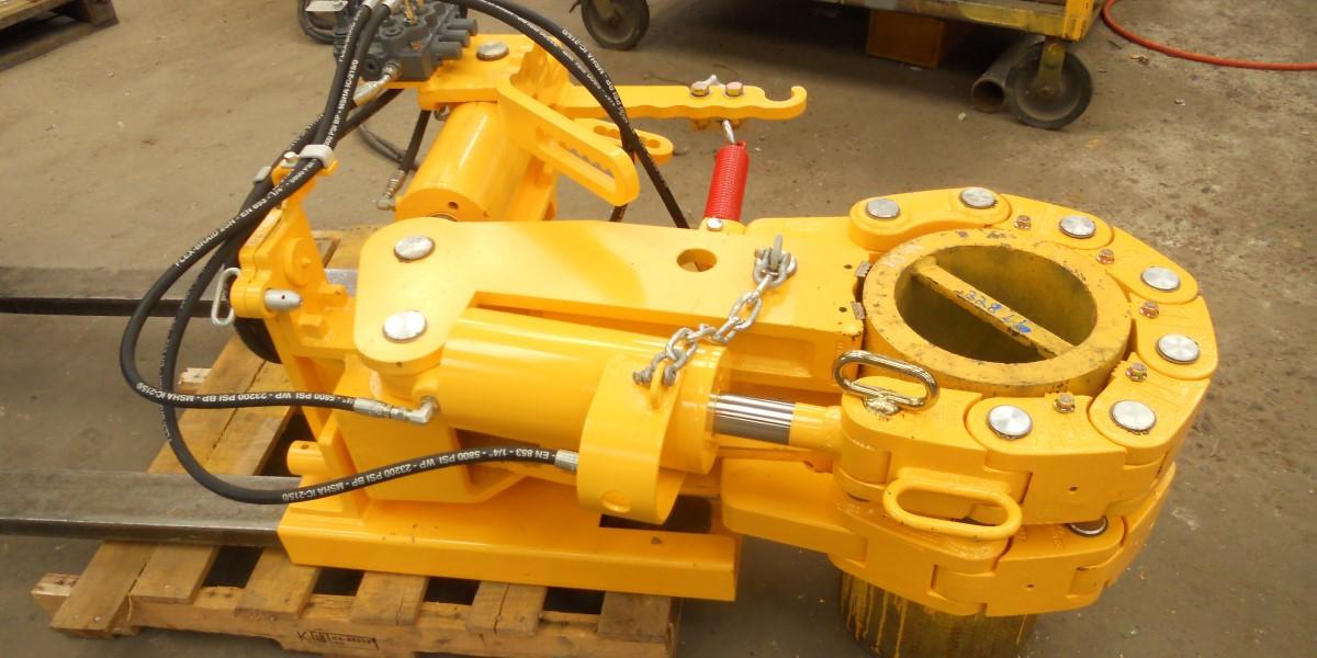 scorpion oil tool break out unit